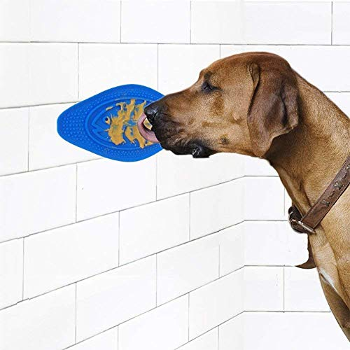 Price comparison product image Ocamo Dog Bath Toy Spread Peanut Butter Make Attention Distracting Dish