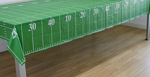 Pack of 3 Game Day Football Tablecover 54″x108″ by Oojami