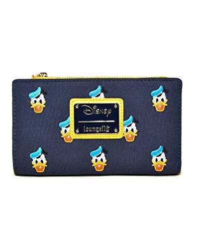 (Loungefly Disney's Donald Duck Print Zip Wallet)