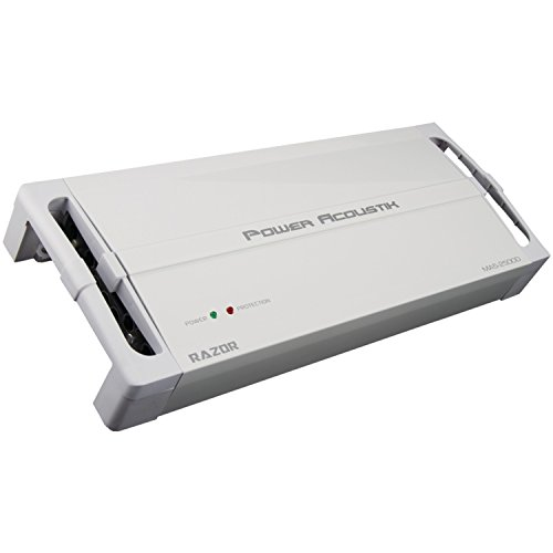 Power Acoustik MA5-2500D 2100W Class D 5 Channel Marine Amplifier