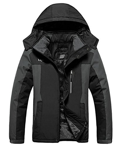 Black Snowboarding Jacket - 4