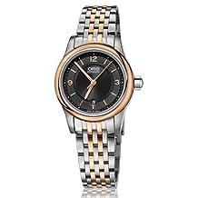 Oris Classic Date Black Dial Steel Ladies Watch 01 561 7650 4334-07 8 14 63