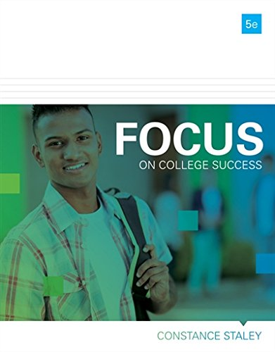 FOCUS on College Success (Cengage Learnings FOCUS Series)