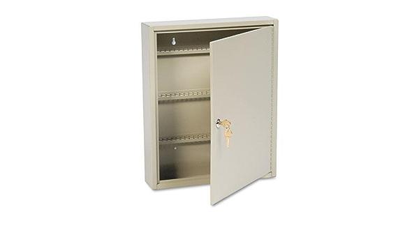 200-Key 16 1//2 x 4 7//8 x 20 1//8 SteelMaster Uni-Tag Key Cabinet Sand Steel