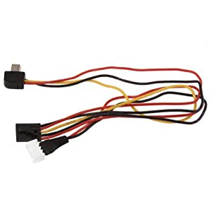 Neewer® RC Spare Part AV Signal and Power Charging Cable AV Cable FPV Realtime for DJI Phantom Gopro3