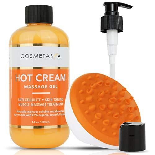 Hot Cream Massage Gel