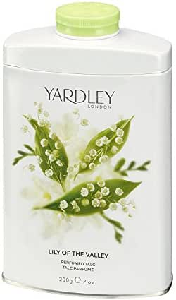 YARDLEY by Yardley for WOMEN: LILY OF THE VALLEY TIN TALC 7 OZ