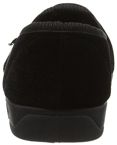 Dunlop Duncan, Zapatillas de Estar por Casa para Hombre Negro - negro