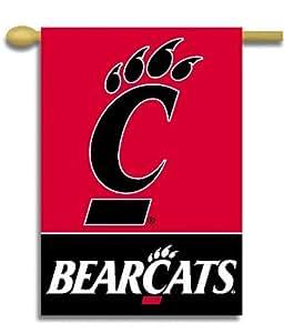 """Universidad de Cincinnati–28""""X 40"""" NCAA Banner a doble cara"""