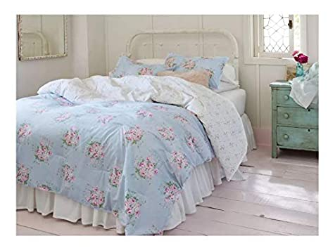 Floral Bedspreads And Comforters.Amazon Com Simply Shabby Chic Blue Bella Floral Comforter