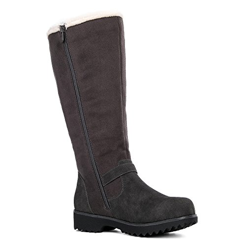 Global Win GLOBALWIN Damen Winter Fasion Stiefel 15grey