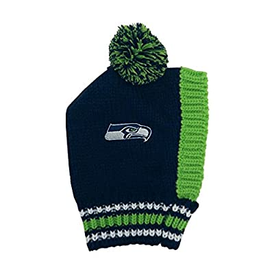 Pet Care Preferred Seattle Seahawks Pet Knit Hat - Small