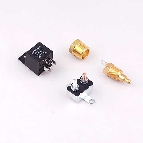 Engine Fan Switch : Fan thermostat temperature switch engine cooling sensor