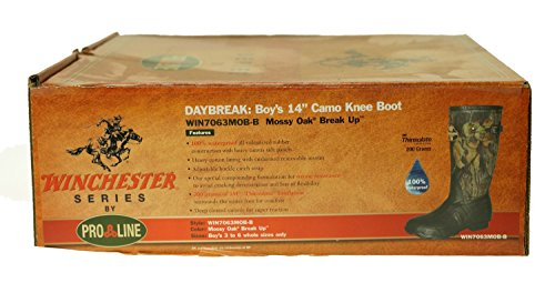 Pro Line Boy's Winchester Hunting Knee Boots,Multicoloured,6 M Big Kid
