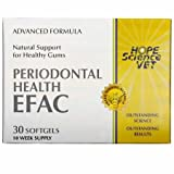 EFAC Periodontal Health Advance Formula for Dogs Cats (30 Softgels)