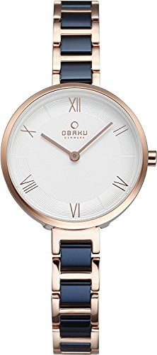 OBAKU watch VAND COBALT 2 needle V195LXVISL Ladies