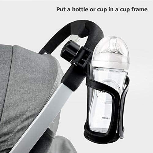 sin Herramientas Heatigo Soporte para Bici rotaci/ón de 360 Grados cochecitos y Silla de Ruedas Soporte Antideslizante para Bebidas para Bicicletas de monta/ña Soporte para Botella de Bicicleta