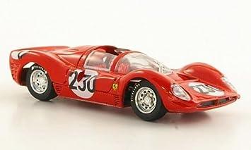 Ferrari 330 P3 No 230 Bandini Vaccarella Targa Florio 1966 Model Car Ready Made Brumm 1 43 Model Amazon De Spielzeug