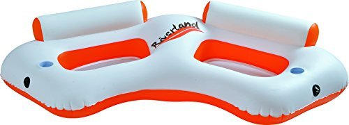Balance-Living-Riverland-2-Person-Inflatable-Water-Sofa-Pool-Lounge-85L-x-41W-x-19H