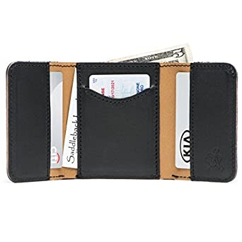 2c961bc2b3238 Image Unavailable. Image not available for. Color  Saddleback Leather Co.  Classic Full Grain Leather Trifold Wallet ...