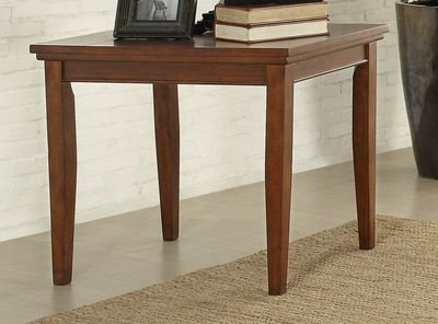 Amazoncom Barnett End Table Slate Insert In Stone Inlay Warm - Dining table with slate inlay