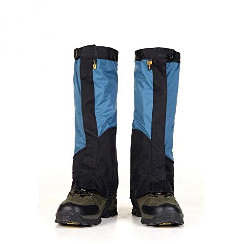 Smarlance Waterproof Legging Gaiters for Outdoor Mountain Hiking Camping Hunting Leg Gaiters Keep Water and Debris Out Durable High Snow Gaiters Shoes Cover
