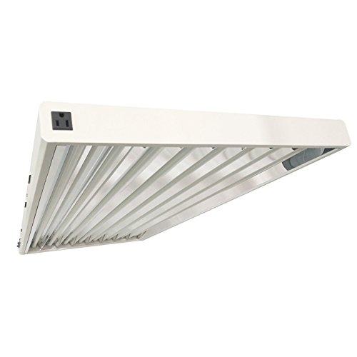 DLS T5 HO Fluorescent Lamp Grow Lights Fixtures 4 ft 8 Lamps ...
