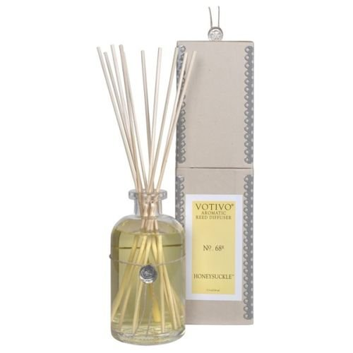2 Pack Votivo Honeysuckle #68 Aromatic Reed Diffusers by Votivo
