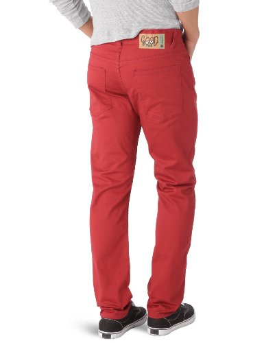 Globe Fearon Uni - Vaqueros, color 58 Rojo