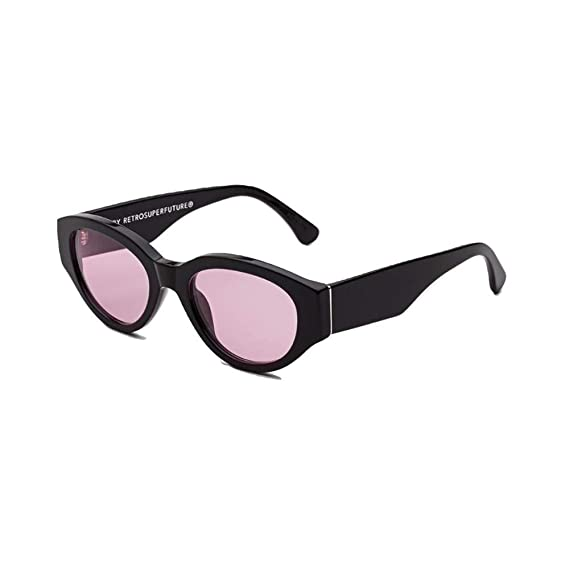 252442c688 Image Unavailable. Image not available for. Colour  Sunglasses Super by  Retrosuperfuture Drew Mama Black Pink ...