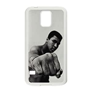 HQYDIY Personalised Muhammad Ali Cell Phone Case, Customised Muhammad Ali Durable Cover Case for samsung galaxy s5 I9600