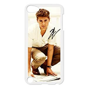 CTSLR Star Zac Efron Protective Hard Case Cover Skin for iPod Touch 5 5G 5th Generation- 1 Pack - Black/White -3