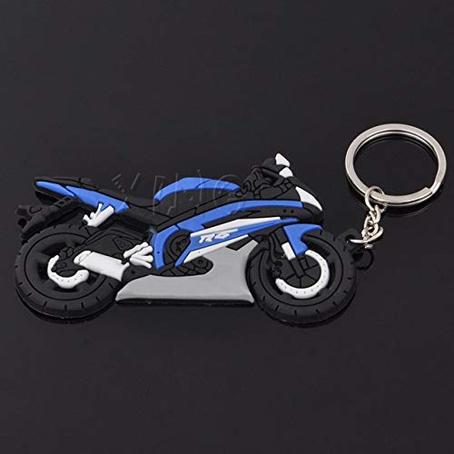 FASHLADY Modelo de la Motocicleta Llavero del sostenedor del ...