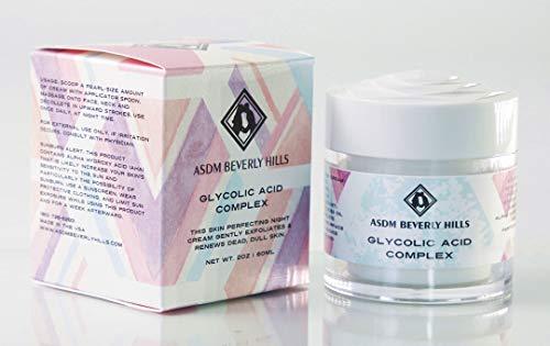 ASDM Beverly Hills Glycolic Acid Complex, 2 Ounce - Glycolic Acid Night Cream