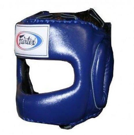 Twins Boxing Head Gear Medium (Blue) - 8