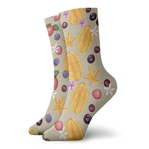 Cotton Crew Socks for Women&Men Compression Athletic Socks