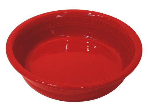 Fiesta 2-Quart Serving Bowl, - Sugar Fiesta Scarlet