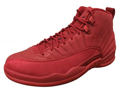 huge selection of cfd5f 72b47 Nike Mens Air Jordan 12 Retro Gym Red Black Suede Size 9.5