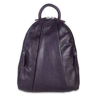 Osgoode Marley Marley Teardrop Multi Zip Backpack - Plum