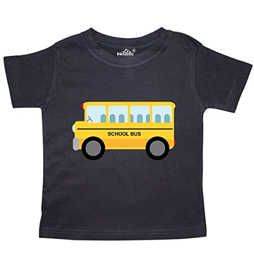 - inktastic - School Bus Toddler T-Shirt 2T Black daf7