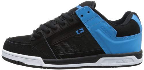 GLOBE Skateboard Shoes LIBERTY BLACK/BLUE Sz 6