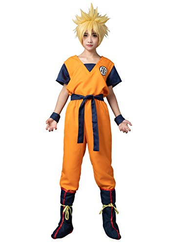 Krillin Halloween Costume (CosFantasy Unisex Cosplay Son Goku Turtle SenRu Costume mp002565 (Men L(Bust:)