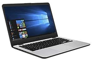"ASUS K405UA-BV537R Vivo Book HD Laptop (Intel Core i7-7500U, 8GB RAM, 256GB SDD) Windows 10 Pro, 14"", Dark Grey Metal"