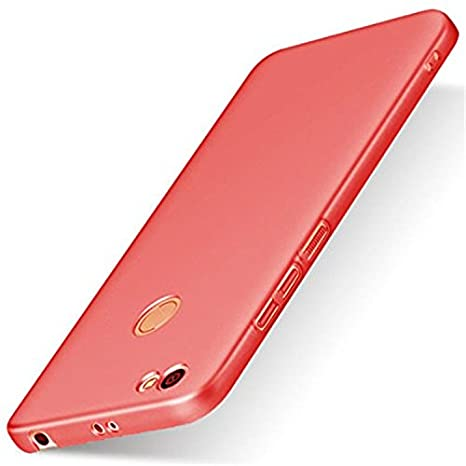 e13713eb81b FABUCARE Back Cover Case for Xiaomi Redmi Y1 - Red  Amazon.in  Electronics