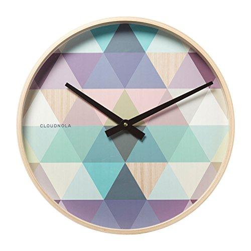 Cloudnola Tonic Blue Clock Diam 16 inches