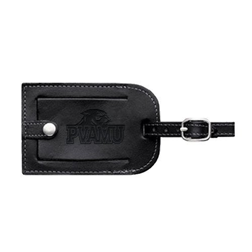 Prairie View A&M Millennium Leather Luggage Tag 'Official Logo Engraved' by CollegeFanGear