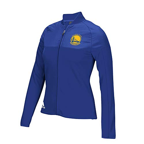 Adidas Nba Track Jacket - adidas Golden State Warriors NBA Women's On-Court Track Blue Jacket Small