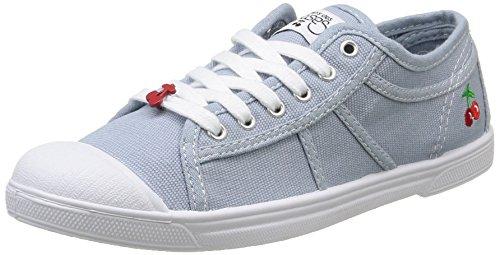 Le Temps des CerisesLtc Basic 02 - Zapatillas de deporte, Mujer Azul (Ashley)