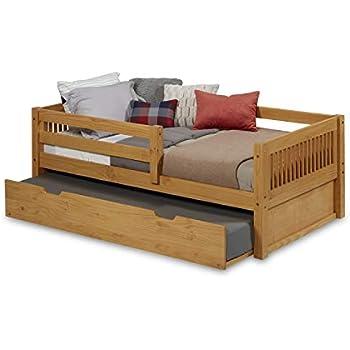 Amazon.com: camaflexi arco Spindle estilo Daybed de madera ...