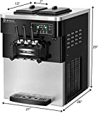 COSTWAY Commercial Ice Cream Machine, Automatic